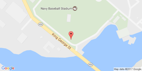 US Naval Academy Terwilliger Brothers Fields At Max Bishop - Us map of baseball stadiums